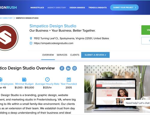 Simpatico Ranked as a Top 20 Web Design & Development Agency